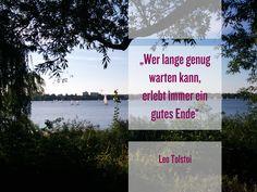 #zitatderwoche #quoteoftheday #Außenalster #Hamburg #Perle