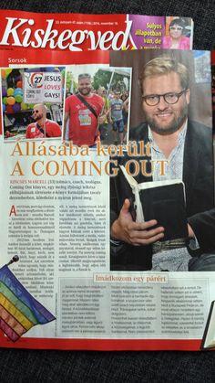 Kiskegyed interjú, Kincses Marcell: Coming Out Könyv