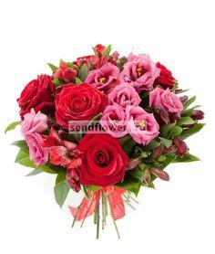 Страстное сердце http://www.sendflowers.ru/rus/flowers/bc3712.html