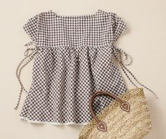 Handmade recipe | | Clover Co., gingham tunic softly
