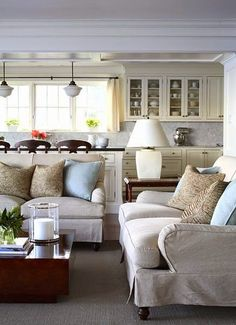 South Shore Decorating Blog: Traditional and Transitional Rooms I Admire