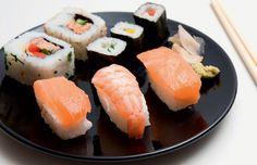 Como manter a dieta no restaurante japonês