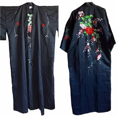 A personal favorite from my Etsy shop https://www.etsy.com/listing/501029739/embroidered-floral-kimono-authentic-from