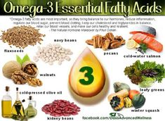 Improve cognitive function, protect your heart and promote weight loss with Omega 3 fatty acids. The EPA and DHA in omega 3 are known natural sources. Healthy Tips, How To Stay Healthy, Healthy Eating, Healthy Recipes, Healthy Food, Healthy Hair, Healthy Juices, Healthy Dishes, Healthy Drinks