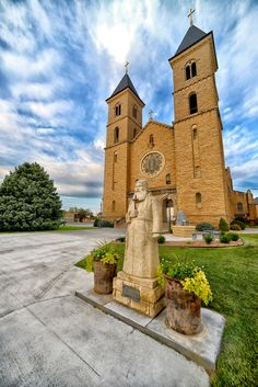 St. Fidelis Catholic Church, Cathedral of the Plains, Victoria, KS, by Ted Lee Eubanks