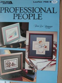 Cross-stitch Patterns-PROFESSIONAL PEOPLE - Doctor-Nurse MORE