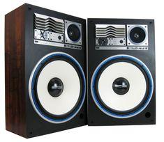 """SANSUI SP-Z7 II VINTAGE SPEAKERS 16"""" WOOFERS HORNS 4-WAY 250 WATTS ... Home Stereo Speakers, Audio Design, Horns, Retro, Modern, Death, Ebay, Vintage, Music"""