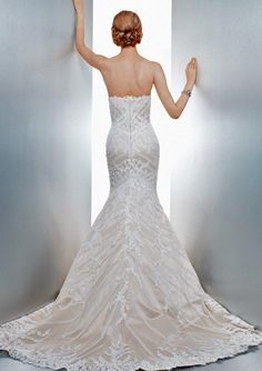 Went and saw this in person today mom!!  Gorgeous!! Matthew Christopher Bridal