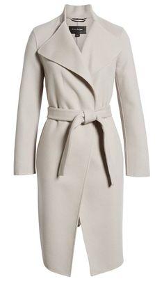 131daadf8d6 Mackage Leora Belted Long Wool Coat