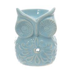 Ceramic-Pastel-Owl-Oil-Burner-in-Blue