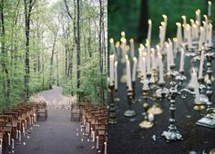 Alexandra and Trevor chose they venue where they first met to host the most special day of their lives, the RT Lodge, Tennessee, in the foothills of the Smoky Mountains. The couple kicked off their wedding weekend celebrations with with a large welcome dinner with all their guests who had traveled to partake in the celebrations.  The following day, they held their candlelit ceremony on the winding forest road in the woods, one of the dreamiest we ever did see! Reflecting back on the moment…