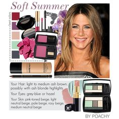 Soft Summer. by poachy on Polyvore featuring uroda, Lancôme, Bare Escentuals, Giorgio Armani, Bobbi Brown Cosmetics, Dr.Hauschka, NARS Cosmetics, Lipstick Queen, Yves Saint Laurent and Ilia