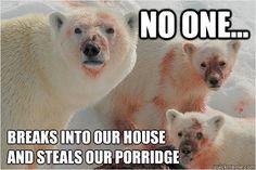 evil polar bears