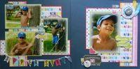 A Project by joanbronson from our Scrapbooking Gallery originally submitted 09/06/13 at 09:07 AM