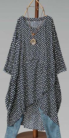 Modest Fashion, Boho Fashion, Fashion Dresses, Club Fashion, 1950s Fashion, Fall Fashion, Fashion Sewing, Maxi Dress With Sleeves, African Fashion