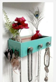 Reused drawer for jewelry
