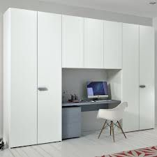 built in wardrobe with desk