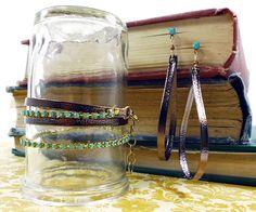 palm beach bracelet + earrings {ornamentea}