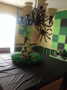 Minecraft Birthday Party | CatchMyParty.com