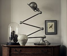 Don't like the lamp tho. Use the soothing Pier Point Grey by Fired Earth in substitution of whites or creams for a chic, vintage style. Mix with muted cream, charcoal and pewter for a tactile, tonal look. Interior Color Schemes, Colour Schemes, Hall Colour, Point Paint, Color Of The Week, Fired Earth, Modern Country, Dresser As Nightstand, House Colors