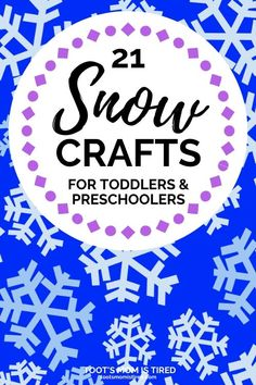 Winter Crafts For Kids, Winter Kids, Winter Snow, Art For Kids, Easy Toddler Crafts, Toddler Preschool, Preschool Activities, Bonding Activities, Toddler Learning