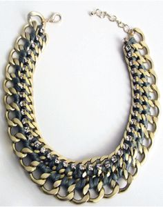 STATEMENT NECKLACE Jewelry Making, Jewels, Chain, Womens Fashion, Fall, Winter, Necklaces, Accessories, Jewerly