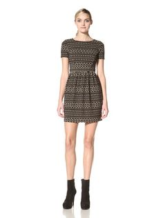 71% OFF Thomas Sires Women's Sedgebrook Fitted Bodice Dress (Black)