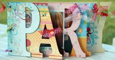 Party Word Book by scrappinchic