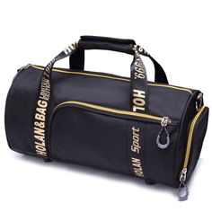 2017 Mini Men Sport Bag Waterproof Nylon Large Gym Bag Letter Outdoor Fitness Bag Women Basketball Soccer Multifunctional Bag
