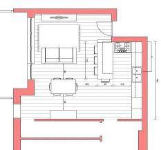 planimetria cucina isola - Cerca con Google | cucina ad U con snack ...