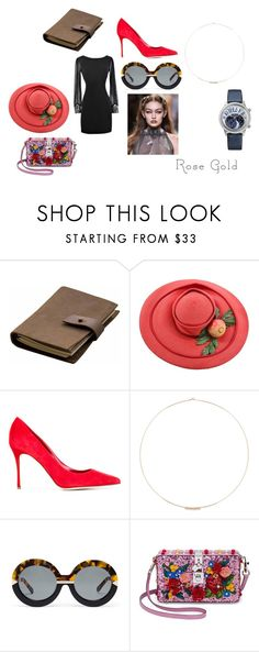 """""""maybe"""" by magdalena-dudek-1 on Polyvore featuring Rear View Prints, Sergio Rossi, Jennie Kwon, Karen Walker i Dolce&Gabbana"""