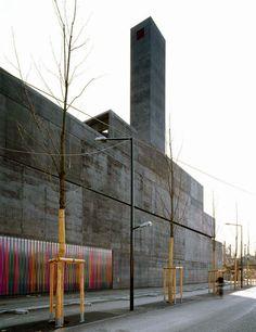 Bétrix & Consolascio - Power plant, Salzburg 2000. Photo Margherita Spiuttini  http://designcouncil.tumblr.com