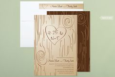 Rustic, Whimsical & Funny Wedding Invitations + Free Guest Addressing | Minted
