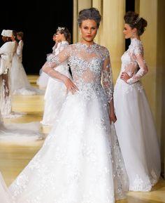 Brides vestido nova coleção Geraldo Couto exclusivo