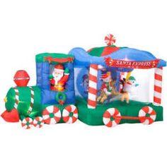 christmas inflatable carousel - Google Search | Christmas ...