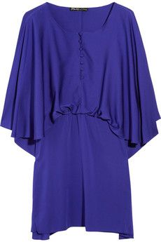 Chapman stretch-silk dress