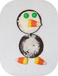 Penguin Snack Recipe For Kids.
