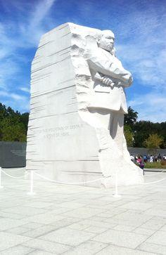 The new Martin Luther King Jr. Memorial - Washington, D.C.