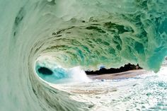 Perfect surfe wave