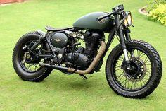 "Royal Enfield ""Assault"" by Rajputana Custom Motorcycle."
