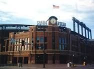 Coors Field, home of (my love!) the Colorado Rockies