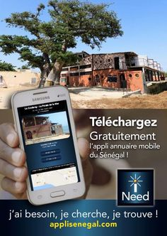 Restaurant sur la mer Saly  application web mobile iNeed