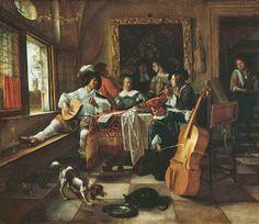 The Family Concert (Jan Havicksz Steen, 1666)