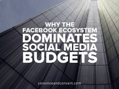 Why The Facebook Ecosystem Dominates Social Media Budgets {research}