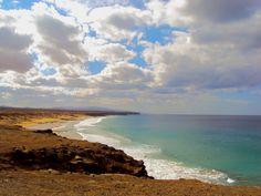 Fuerteventura, Canary Islands is an amazing windsurfing destination. #honeymoon #travel