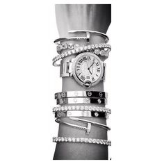 Cartier, my kind of arm candy!