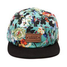 Shop for Vans Floral Camper Hat in Multi at Journeys Shoes. Vanity Clothing, Nike Inspiration, Vans Hats, Nike Air Max 2012, Nike Wedges, Nike Headbands, New Nike Shoes, Men's Fashion, Panel Hat