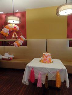 Baby Dusche Banner Girlande Papier Pompom Brief Ballon Geburtstag Party Decor