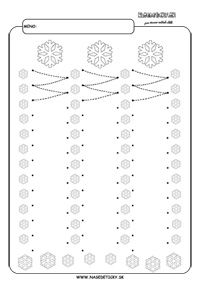 FREE Printable Winter Snowflakes Line Tracing Worksheets! Premature Baby, Writing Numbers, How To Be Outgoing, Interior Design Living Room, About Me Blog, Tracing Worksheets, Preschool Worksheets, Handwriting, Montessori