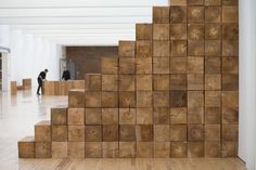 Carl Andre Emerges to Guide Installation at Dia:Beacon - NYTimes.com